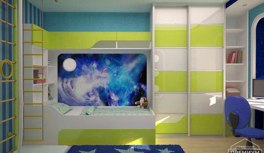 Интерьер детской комнаты для мальчика Глобус 6