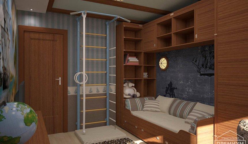 Интерьер детской комнаты для мальчика Глобус 11