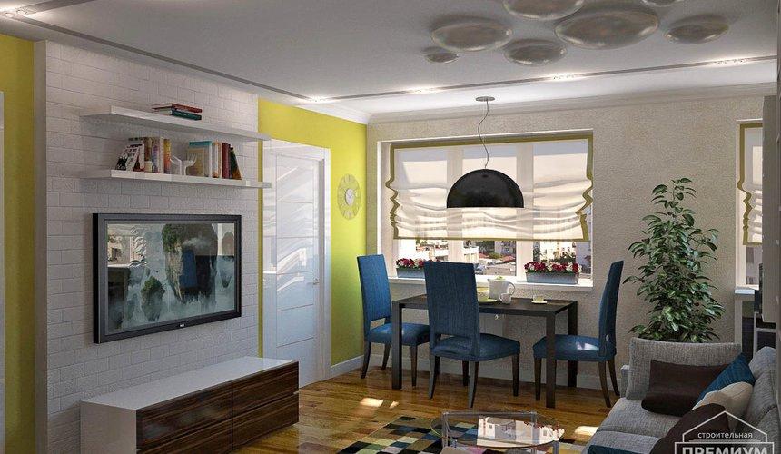 Дизайн интерьера двухкомнатной квартиры по ул. Комсомольская 45 12