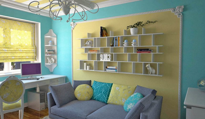 Дизайн интерьера двухкомнатной квартиры по ул. Комсомольская 45 16