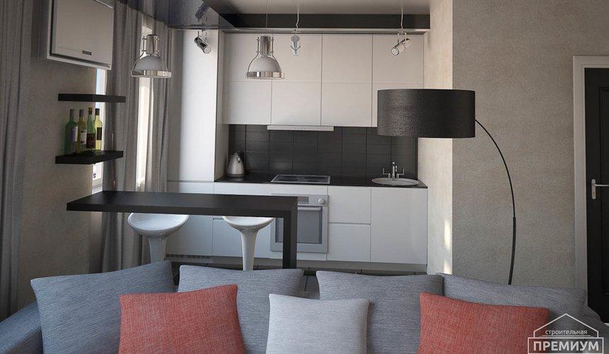 Дизайн интерьера однокомнатной квартиры по ул. Крауля 56 3