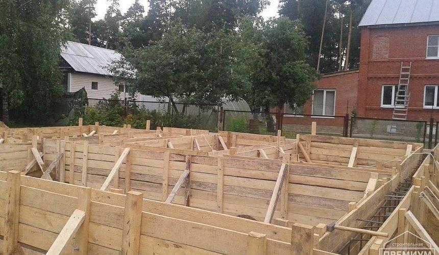 Строительство коттеджа из каркаса в п. Исток 28