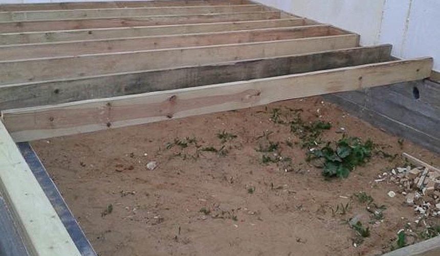 Строительство коттеджа из каркаса в п. Исток 43