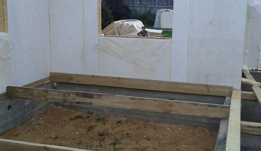 Строительство коттеджа из каркаса в п. Исток 45