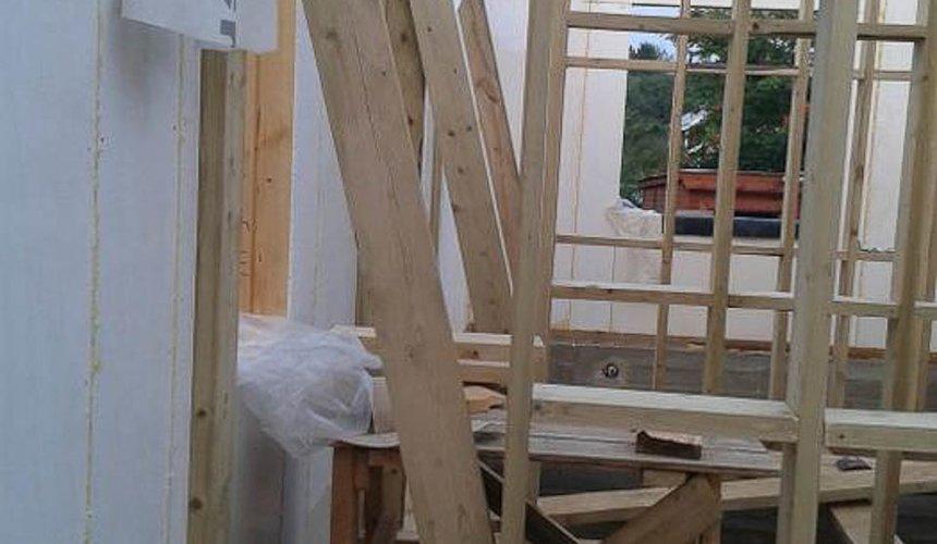 Строительство коттеджа из каркаса в п. Исток 46