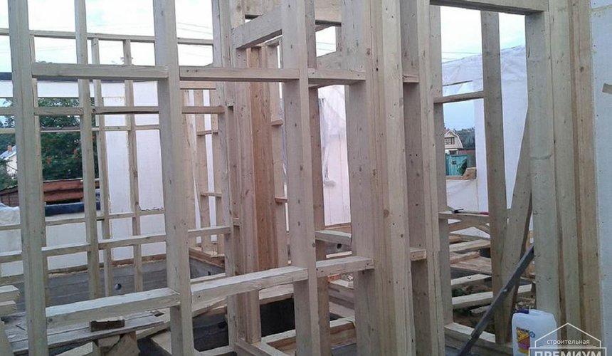 Строительство коттеджа из каркаса в п. Исток 47