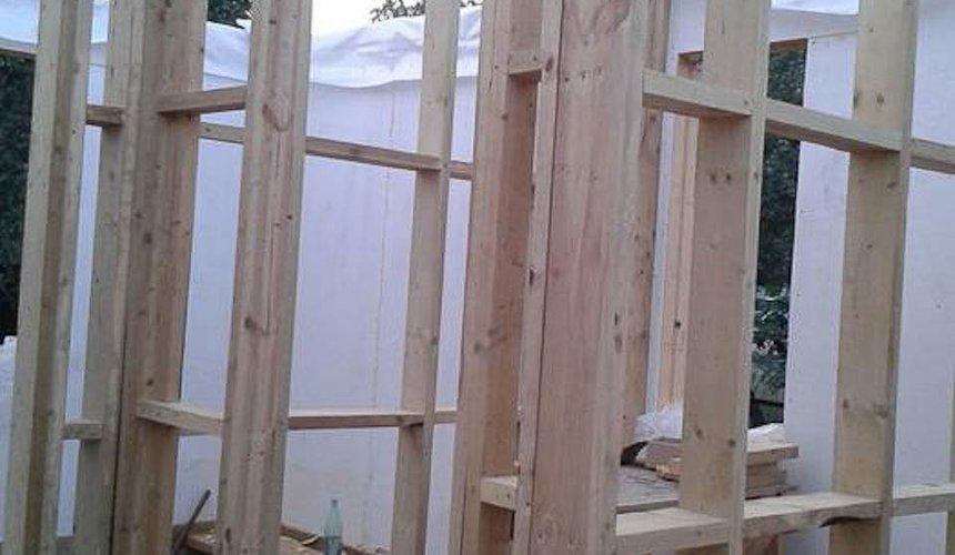 Строительство коттеджа из каркаса в п. Исток 49