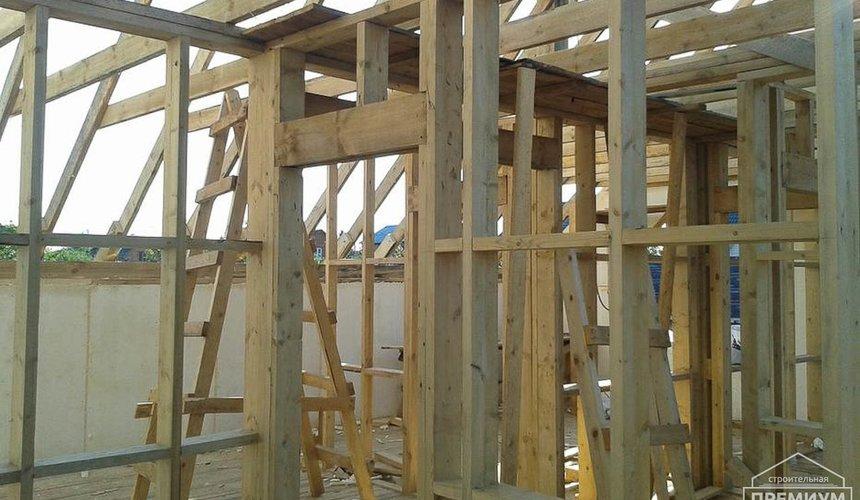 Строительство коттеджа из каркаса в п. Исток 52