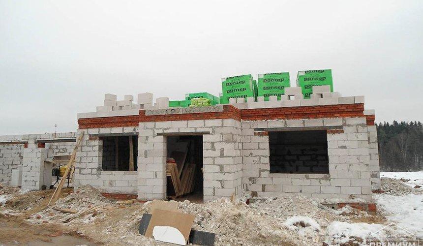 Строительство коттеджа из блоков в р-н Кольцово 44