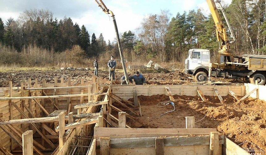 Строительство коттеджа из блоков в р-н Кольцово 3
