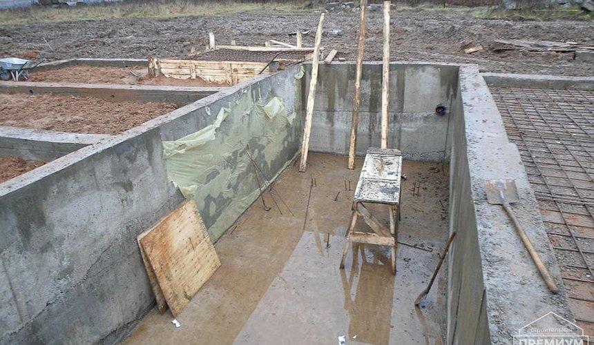 Строительство коттеджа из блоков в р-н Кольцово 5