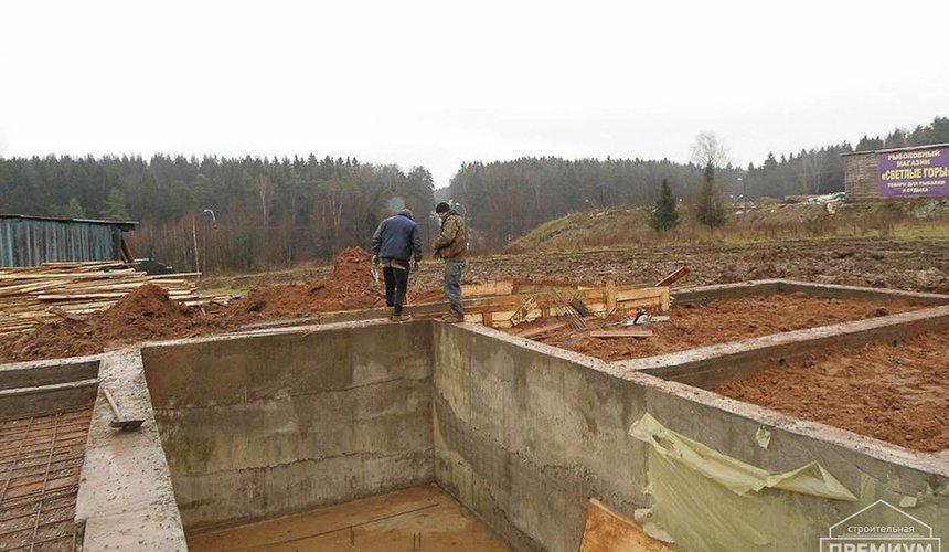 Строительство коттеджа из блоков в р-н Кольцово 6