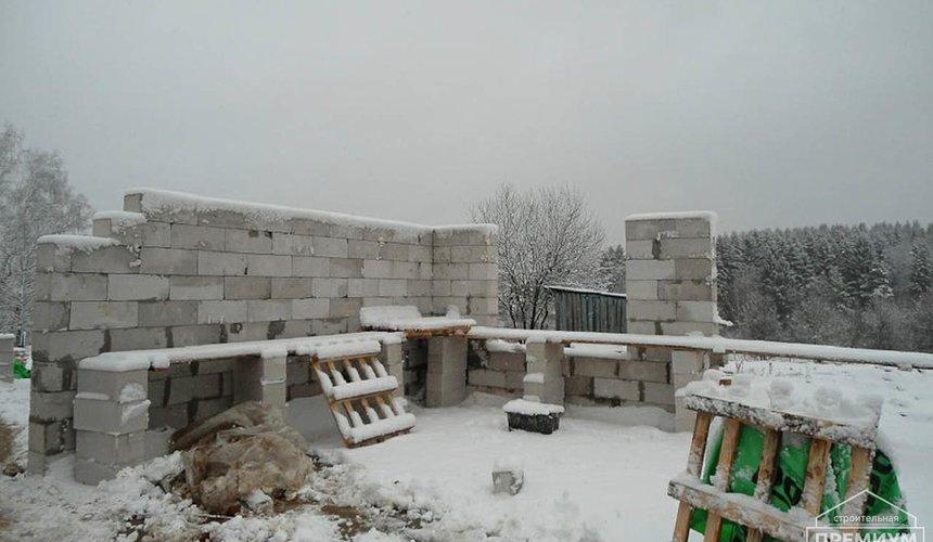 Строительство коттеджа из блоков в р-н Кольцово 10