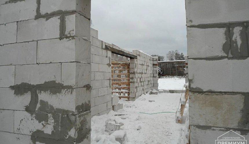 Строительство коттеджа из блоков в р-н Кольцово 11