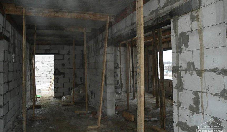 Строительство коттеджа из блоков в р-н Кольцово 20