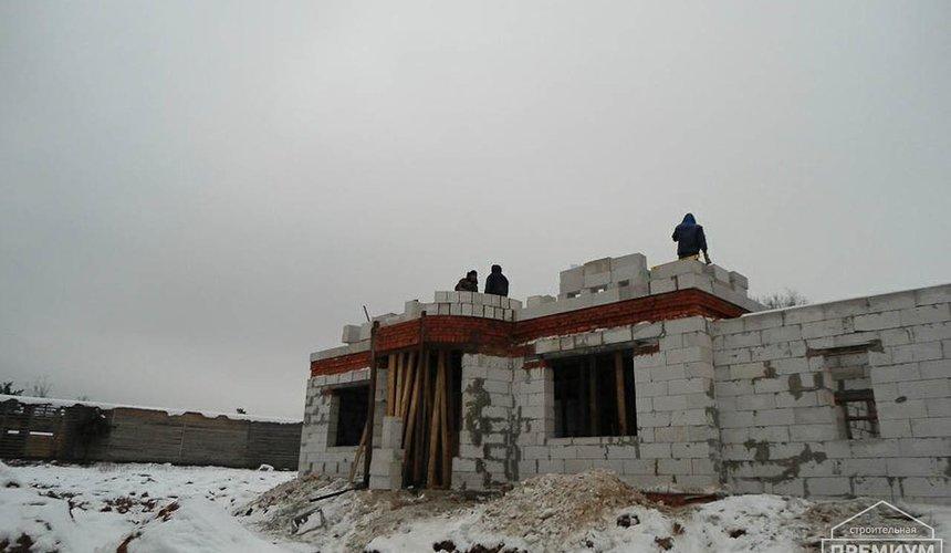 Строительство коттеджа из блоков в р-н Кольцово 22