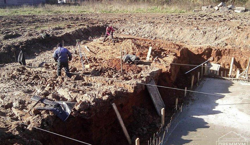 Строительство коттеджа из блоков в р-н Кольцово 24