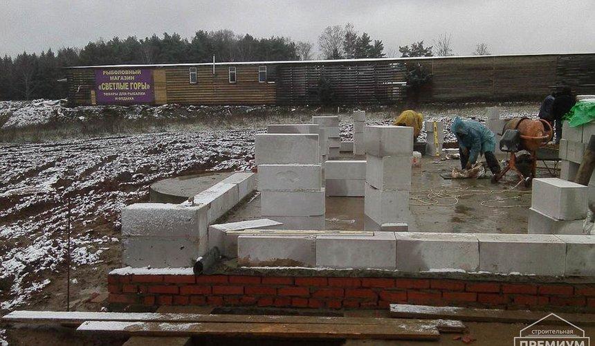 Строительство коттеджа из блоков в р-н Кольцово 32