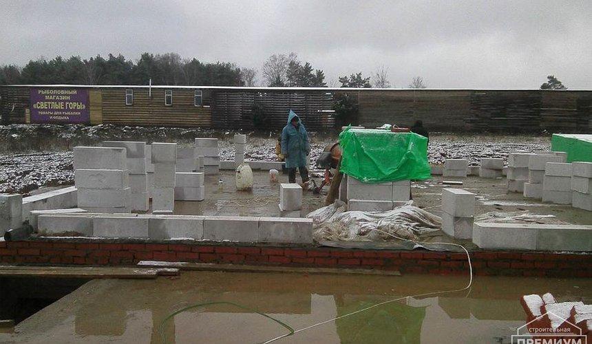 Строительство коттеджа из блоков в р-н Кольцово 33