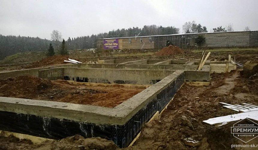 Строительство коттеджа из блоков в р-н Кольцово 38