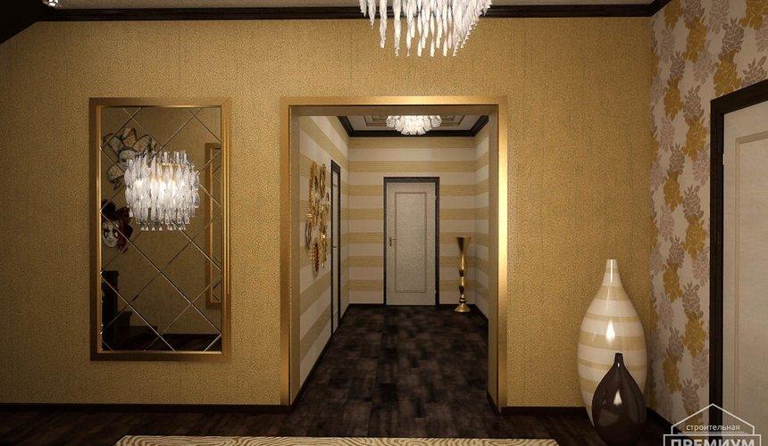 Дизайн интерьера второго этажа коттеджа Сахар 31