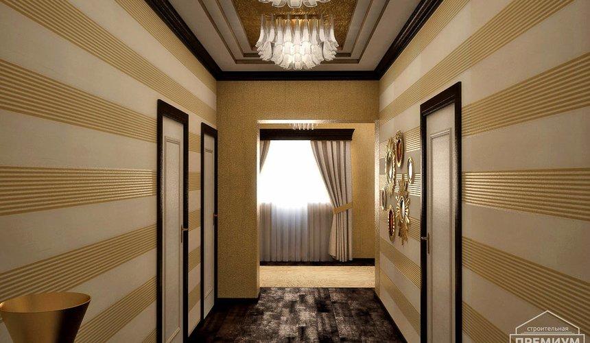 Дизайн интерьера второго этажа коттеджа Сахар 33