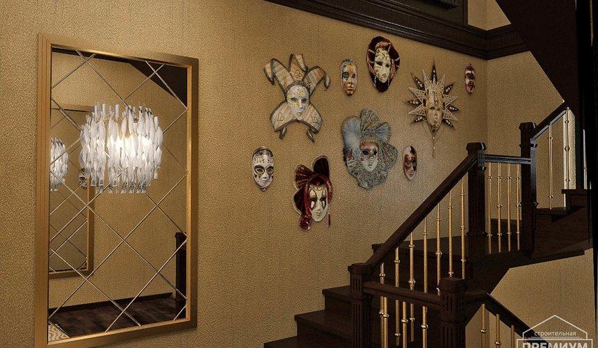 Дизайн интерьера второго этажа коттеджа Сахар 35