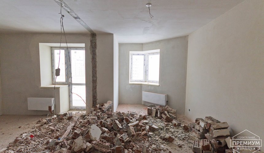 Ремонт однокомнатной квартиры по ул. Сурикова 53а 34