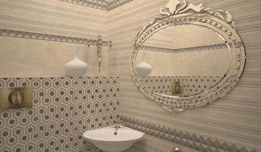 Дизайн интерьера второго этажа коттеджа Сахар 27