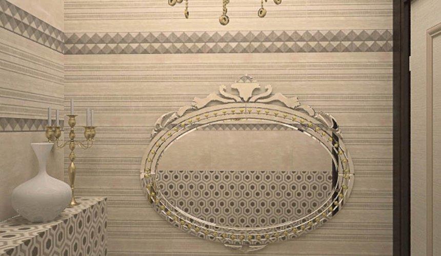 Дизайн интерьера второго этажа коттеджа Сахар 28