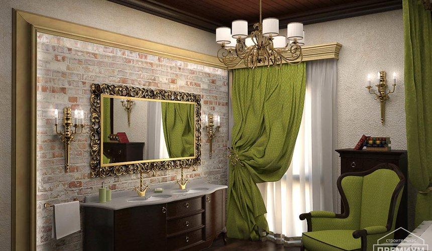 Дизайн интерьера второго этажа коттеджа Сахар 13