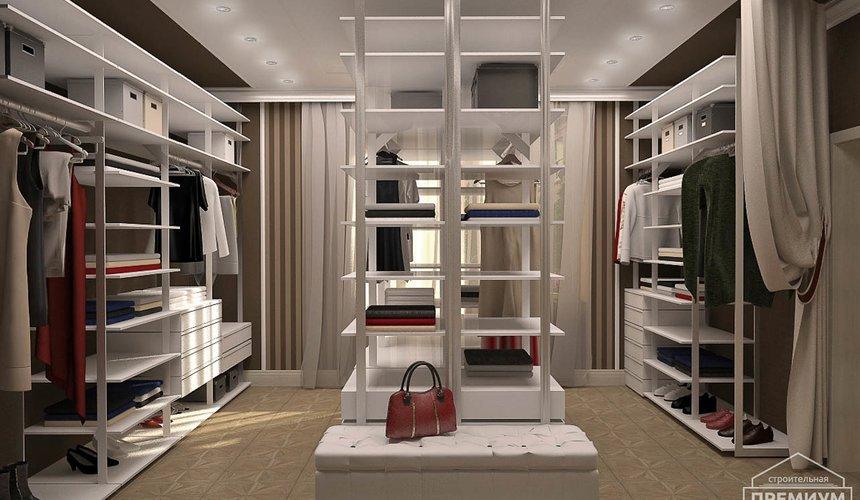 Дизайн интерьера второго этажа коттеджа Сахар 8