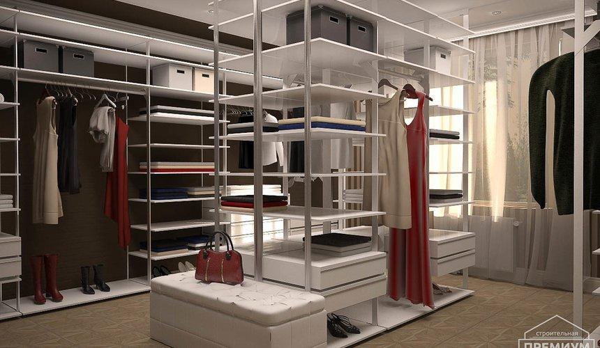 Дизайн интерьера второго этажа коттеджа Сахар 9