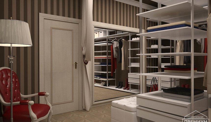 Дизайн интерьера второго этажа коттеджа Сахар 10
