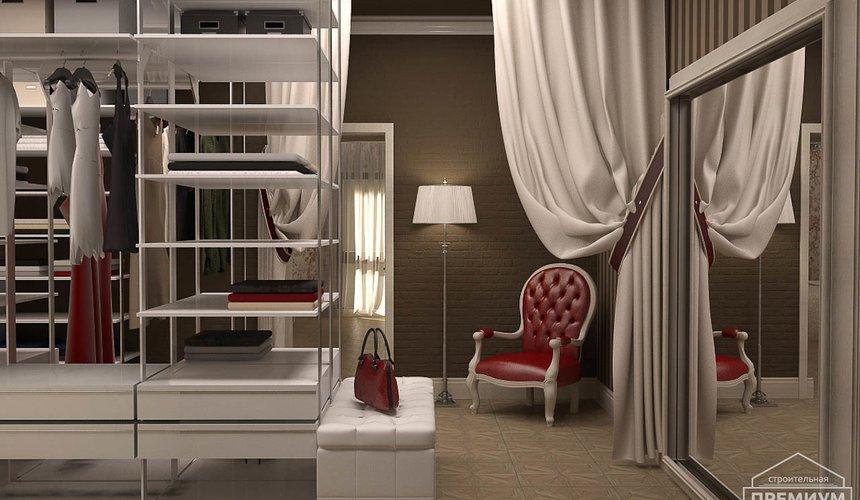 Дизайн интерьера второго этажа коттеджа Сахар 12