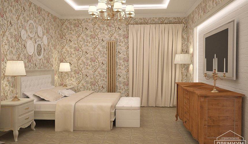 Дизайн интерьера второго этажа коттеджа Сахар 3
