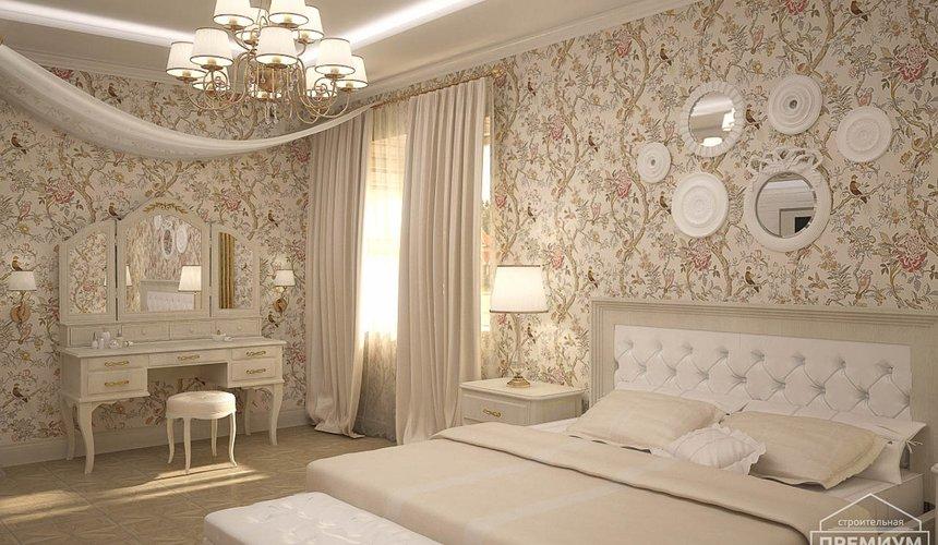 Дизайн интерьера второго этажа коттеджа Сахар 5