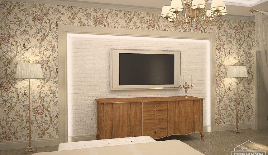 Дизайн интерьера второго этажа коттеджа Сахар 6