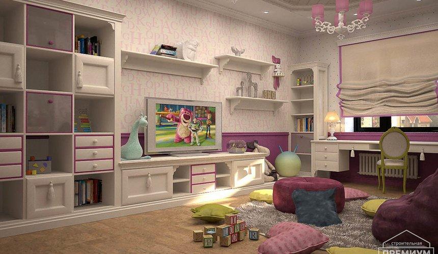 Дизайн интерьера второго этажа коттеджа Сахар 20