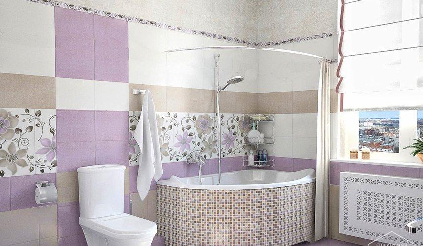 Ремонт и дизайн интерьера трехкомнатной квартиры по ул. Чкалова 124 68