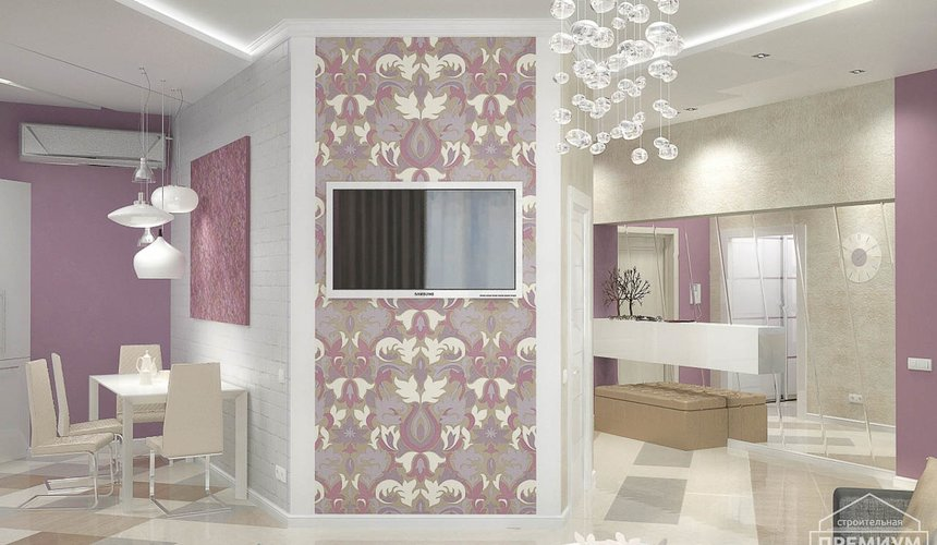 Ремонт и дизайн интерьера трехкомнатной квартиры по ул. Чкалова 124 57