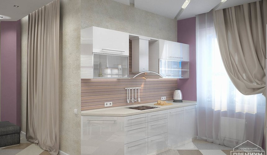 Ремонт и дизайн интерьера трехкомнатной квартиры по ул. Чкалова 124 59