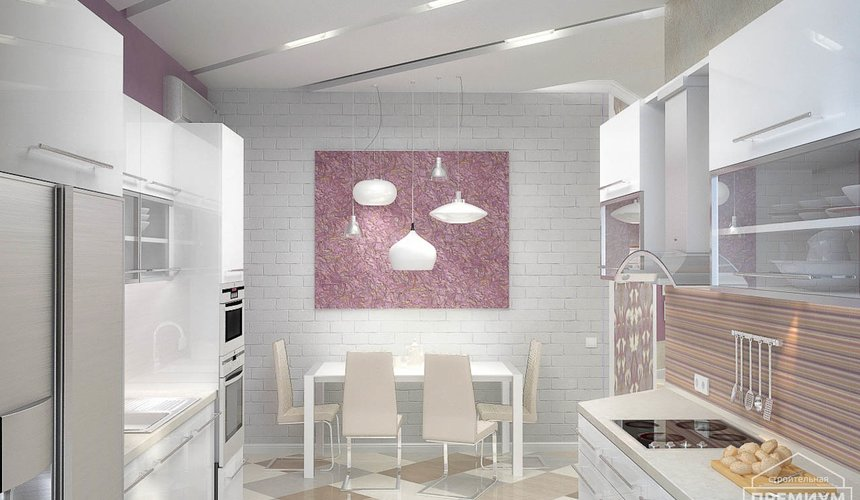 Ремонт и дизайн интерьера трехкомнатной квартиры по ул. Чкалова 124 61