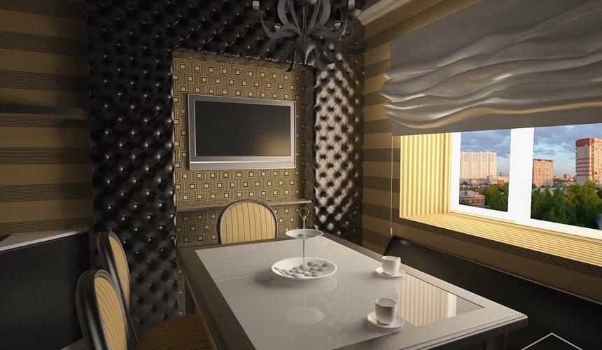 Дизайн интерьера однокомнатной квартиры по ул. Посадская 34 5