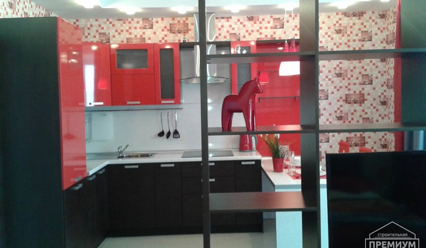 Ремонт однокомнатной квартиры по ул. Сурикова 53а 28