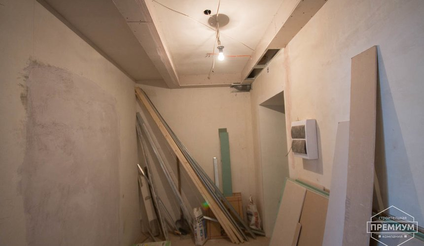 Ремонт однокомнатной квартиры по ул. Сурикова 53а 56