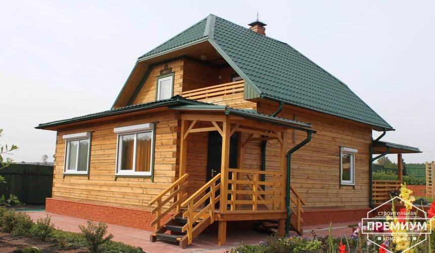 Строительство дома из бруса в п. Северка 1