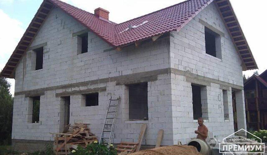 Проектирование и строительство коттеджа из блоков в п. Старопышминский 4