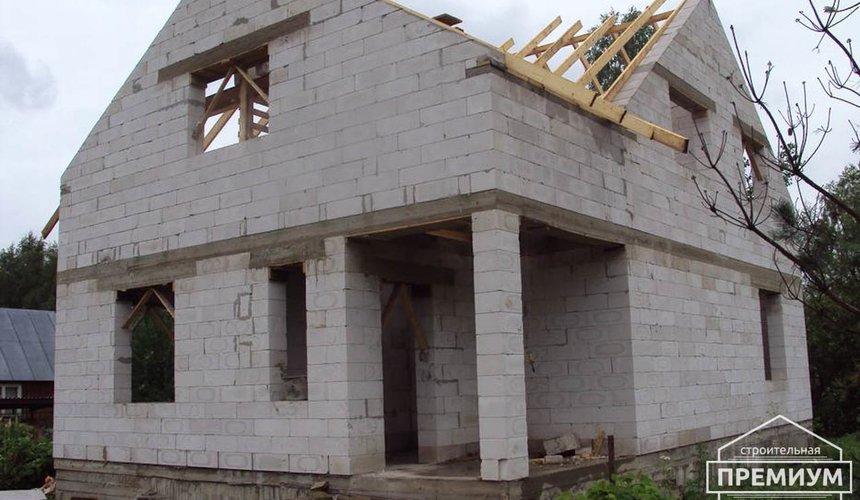 Проектирование и строительство коттеджа из блоков в п. Старопышминский 6
