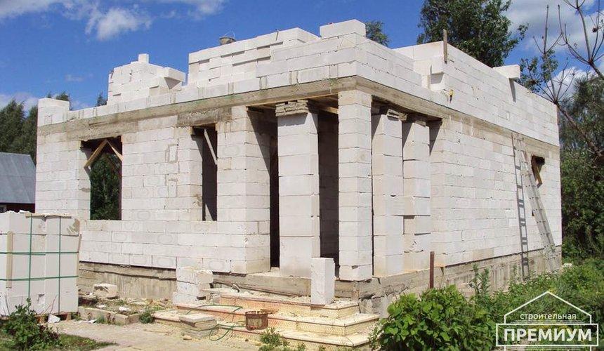 Проектирование и строительство коттеджа из блоков в п. Старопышминский 7